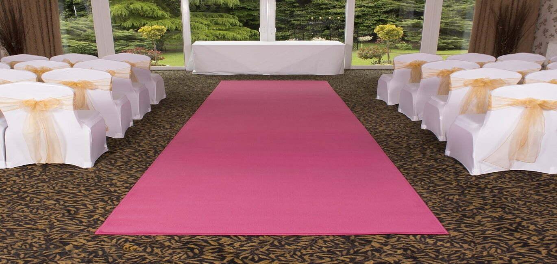 pink wedding carpet dubai